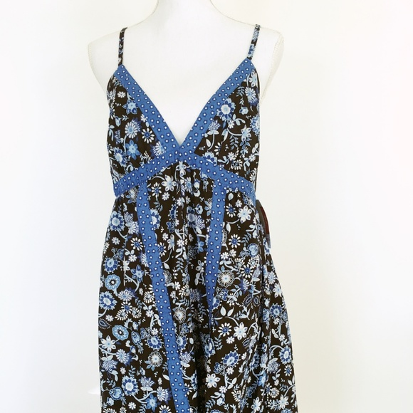 8cbcd1021e NWT Mossimo Size XXL Blue Floral Sundress